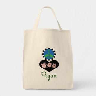 FriedensLiebe-vegane Lebensmittelgeschäfttasche Tragetasche