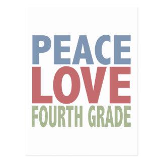 FriedensLiebe-vierter Grad Postkarte