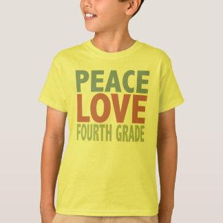 FriedensLiebe-vierter Grad T-Shirt