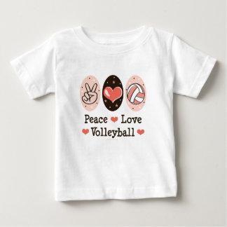 FriedensLiebe-Volleyball-Baby-T-Shirt Baby T-shirt