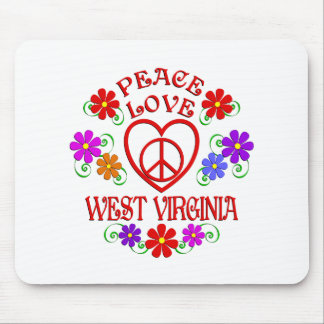 FriedensLiebe West Virginia Mousepad