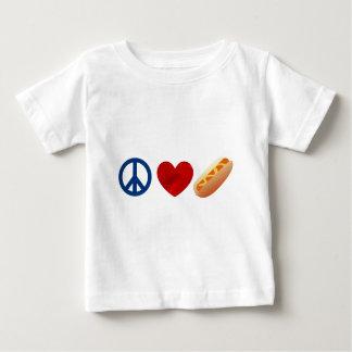 FriedensLiebe-Würstchen Baby T-shirt
