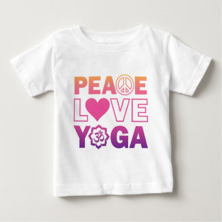 FriedensLiebe-Yoga Baby T-shirt