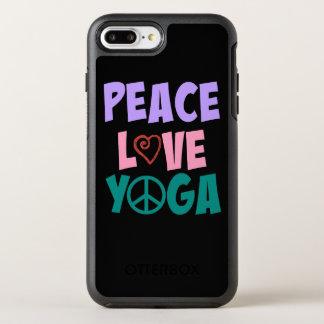 FriedensLiebe-Yoga iPhone Otterbox OtterBox Symmetry iPhone 8 Plus/7 Plus Hülle