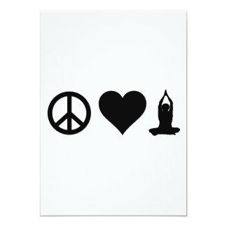 FriedensLiebe-Yoga Karte