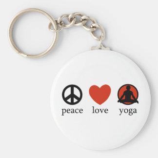 FriedensLiebe-Yoga Schlüsselband