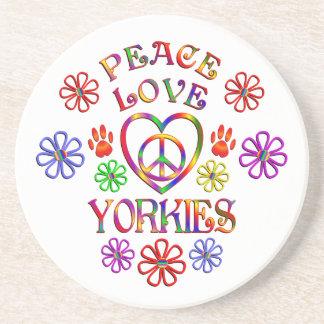 FriedensLiebe Yorkies Untersetzer