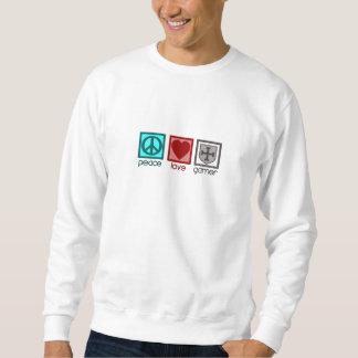 FriedensLiebeGamer Sweatshirt