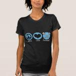 FriedensLiebeLacrosse T Shirt