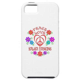 FriedensLiebesalsa-Tanzen Tough iPhone 5 Hülle