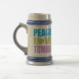 FriedensLiebeTumble Bierglas