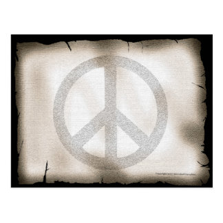 Friedenspostkarte Postkarte