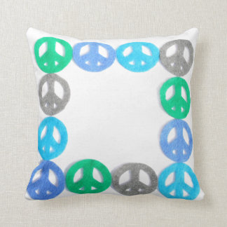 Friedensrahmen-Kissen Kissen