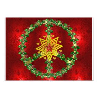 Friedensstern-Weihnachten Individuelle Ankündigungen