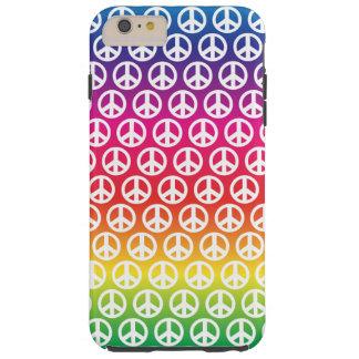 Friedenssymbol Case-Mate starke iPhone 6 Plusfall