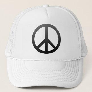 Friedenssymbol-Dunkelheit Truckerkappe