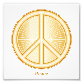 Friedenssymbol Photographischer Druck
