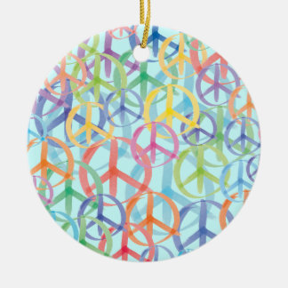 Friedenssymbol-Kunst Keramik Ornament