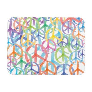 Friedenssymbol-Kunst Magnet