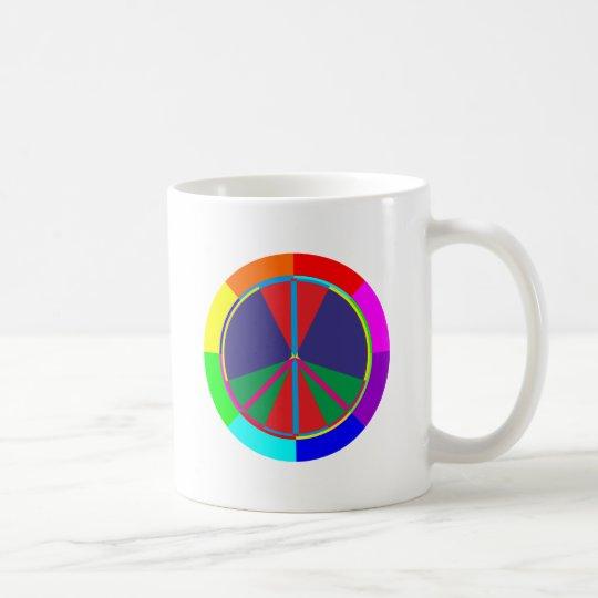 Friedenssymbol peace symbol kaffeetasse
