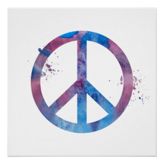 Friedenssymbol Poster