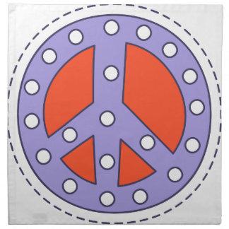 Friedenssymbol Serviette