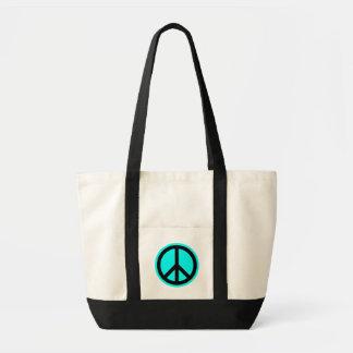 Friedenssymbol-Tasche Impulse Stoffbeutel