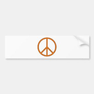 Friedenssymbol-Zeichen-Liebehippie-Antikriegs-Prot Autosticker