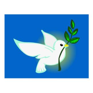 Friedenstaube peace dove postkarte