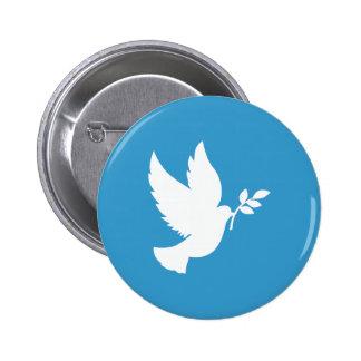 Friedenstaube Runder Button 5,7 Cm