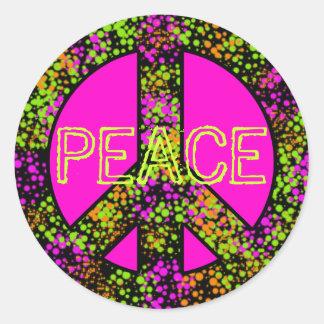 Friedenszeichen-Aufkleber