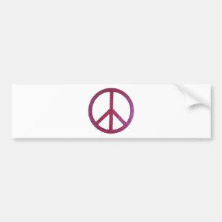 Friedenszeichen Autoaufkleber