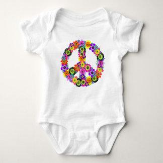 Friedenszeichen Babybody