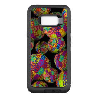 Friedenszeichen-Bälle OtterBox Defender Samsung Galaxy S8+ Hülle