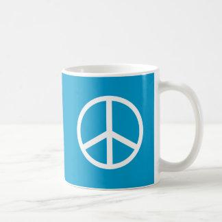 Friedenszeichen Kaffeetasse