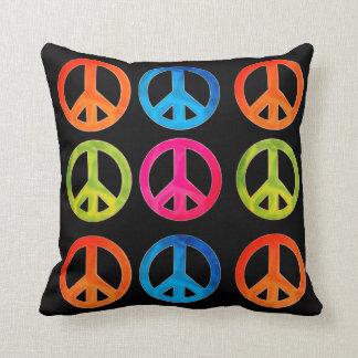 Friedenszeichen-Kissen Kissen