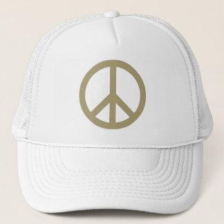 Friedenszeichen Truckerkappe