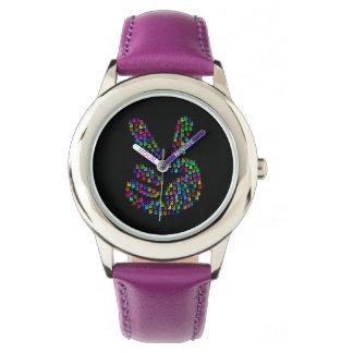 Friedenszeichenuhr Armbanduhr