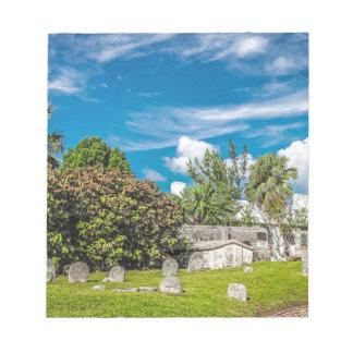 Friedhof St. Georges Notizblock