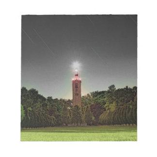 Friedhofs-Turm Notizblock