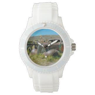 Friedhofsauto Armbanduhr
