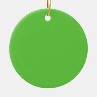 Friedlich kreative grüne Farbe Zehner-Klub Keramik Ornament