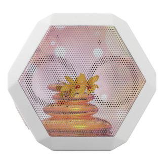 Friedliche Kiesel - 3D übertragen Weiße Bluetooth Lautsprecher