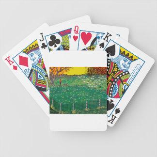 Friedliche Schaf-Weiden Bicycle Spielkarten