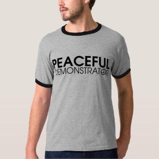Friedlicher Demonstrant Shirt