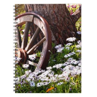 Friedlicher Garten Notizblock