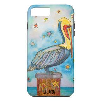 Friedlicher Pelikan iPhone 8 Plus/7 Plus Hülle