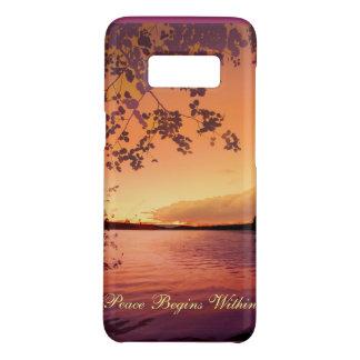Friedlicher Sonnenuntergang Case-Mate Samsung Galaxy S8 Hülle