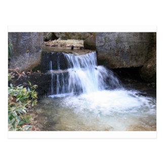 friedlicher Wasserfall Postkarte