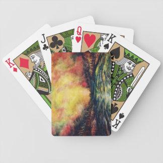 Friedlicher Weg Spielkarten